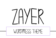 Zayer – Minimal and Creative WordPress Theme