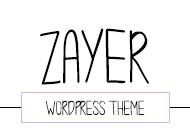 Zayer – Minimal and Creative WordPress Theme